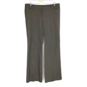 Ann Taylor Factory Brown Modern Fit Career Trouser